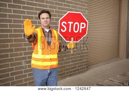 Crossing Guard At School