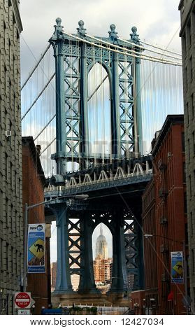Manhattan Bridge from Brooklyn side