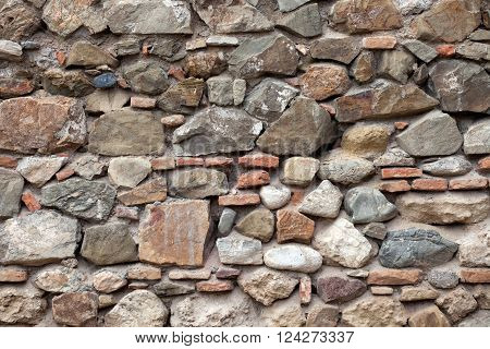 rough sand stone wall surface texture background