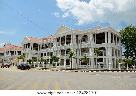 George Town/Malaysia - September 2012: Mahkamah Tinggi in George Town Penang Malaysia.