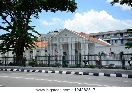 George Town/Malaysia - September 2012: Penang State Assembly in George Town, Penang, Malaysia
