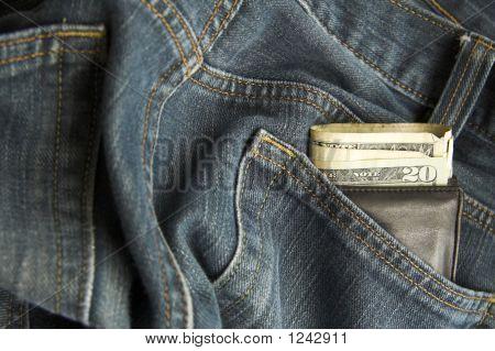 Wallet In Jeans