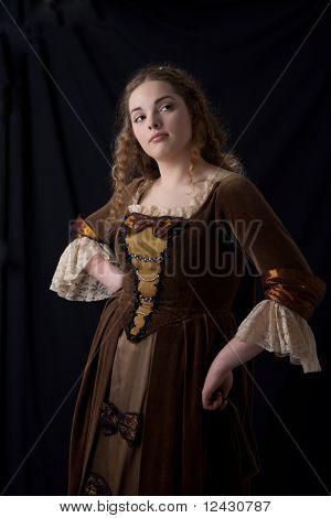 Coquette Renaissance Portrait