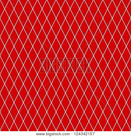 Seamless Pattern Of Small Rhombuses