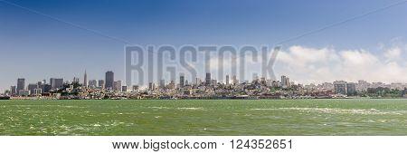 San Francisco City Downtown