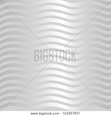Marine background with waves. Silver pattern in nautical style. Vector background for cards, invitations, covers, banners, websites. The pattern on the marine theme.
