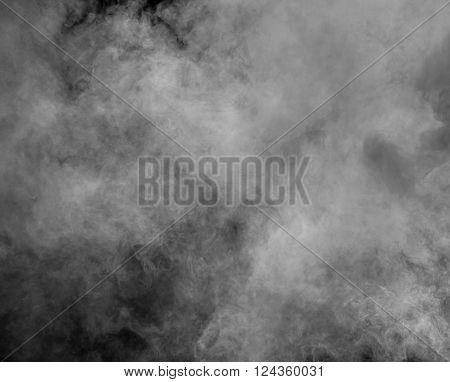 B&w Abstract Smoke