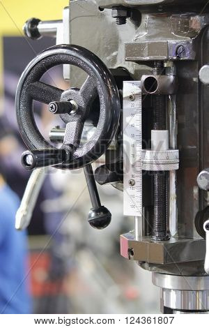 Closed up Lathe machine for industrial working