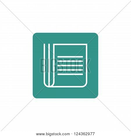 Newspaper Icon In Vector Format. Premium Quality Newspaper Icon. Web Graphic Newspaper Icon Sign On