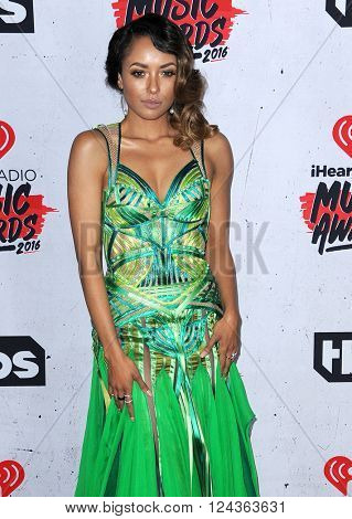 Kat Graham at the 2016 iHeartRadio Music Awards held at the Forum in Inglewood, USA on April 3, 2016.