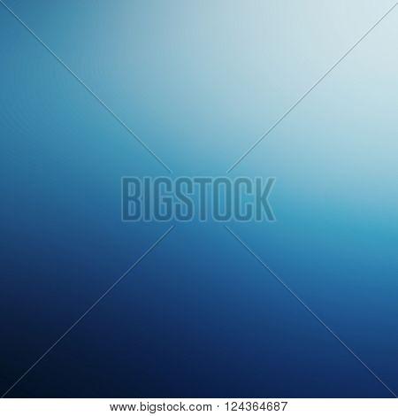 Blue background / abstract blue background of elegant dark blue vintage grunge background texture black on border with lights
