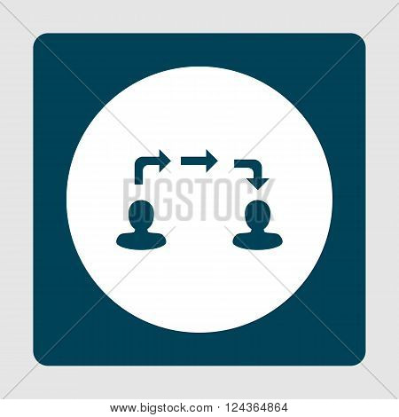Information Exchange Icon In Vector Format. Premium Quality Information Exchange Icon. Web Graphic I