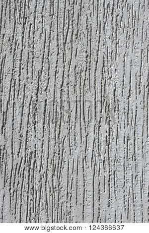 Relief Plaster Grey Wall
