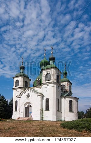 Ascension Church In Kozelets