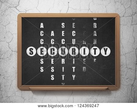Security concept: Security in Crossword Puzzle