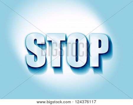 stop sign background with some soft smooth lines