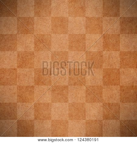 chequered pattern texture or light and dark brown chessboard background check