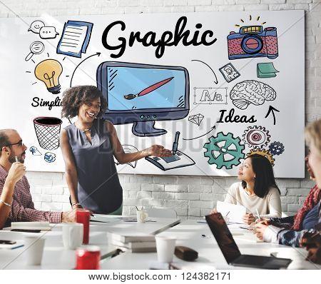 Graphic Visual Art Creative Design Concept