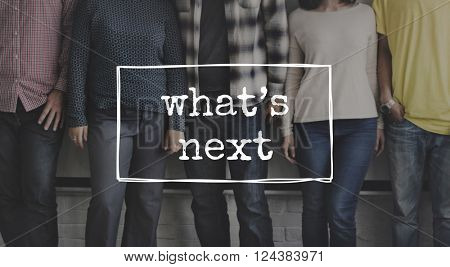 What's Next Expectation Coming Soon Concept