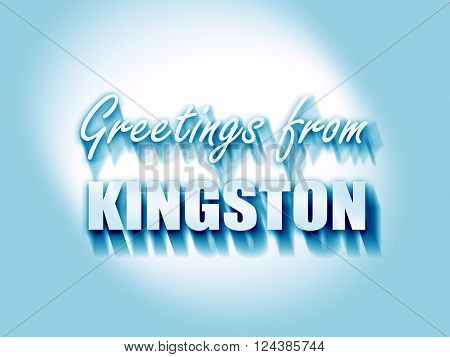 Greetings from kingston with some smooth lines