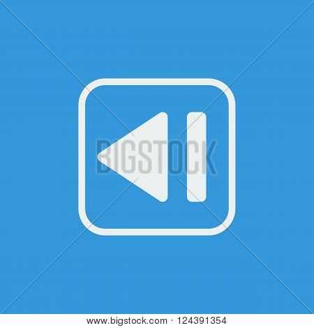 Music Backward In Vector Format. Premium Quality Music Backward. Web Graphic Music Backward Sign On