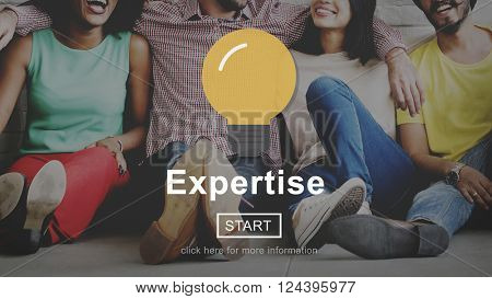 Expertise Professional Excellent Ability Brilliant Concept
