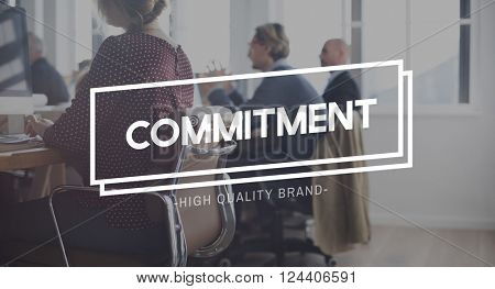 Commitment Promise Trust Obligation Compliance Concept