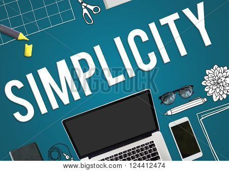 Simplicity Minimal Simple Effortless Modern Concept