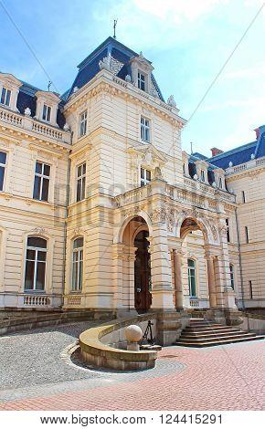 Potocki Palace in Lviv, Ukrainian. Currently - Lviv National Art Gallery