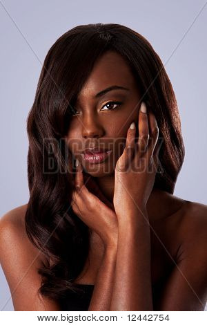 Black Beauty - Female Face