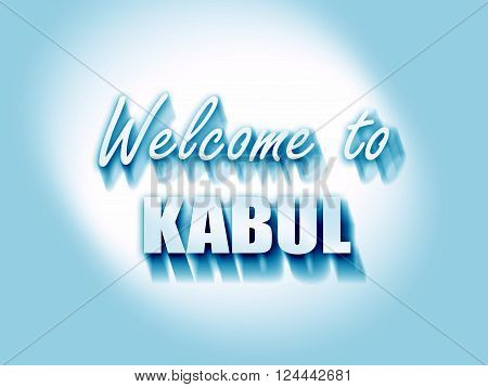 Welcome to kabul with some smooth lines