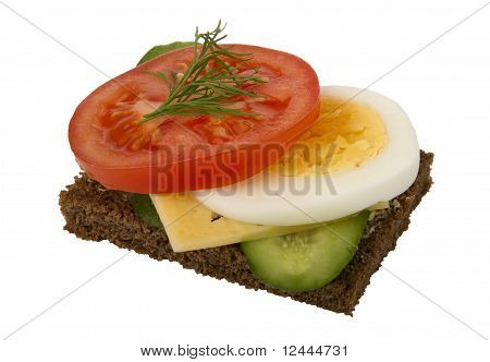 Danish Open Sandwich