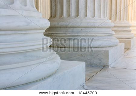 The row of classiclal columns