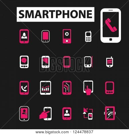 smartphone icons