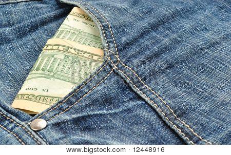 Geld In Tasche