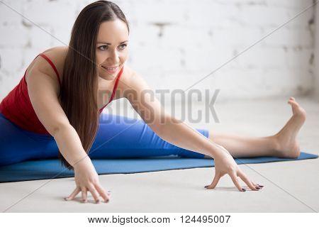 Yoga Indoors: Upavishtha Konasana