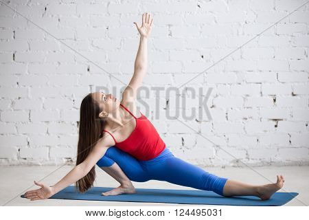 Yoga Indoors: Ardha Samakonasana