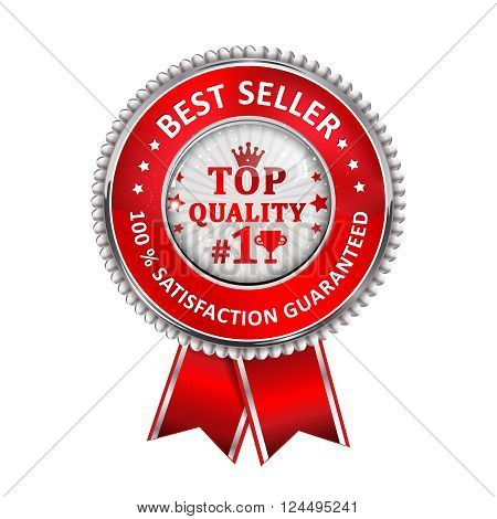 Best Seller. 100 % Satisfaction Guaranteed. Award for excellence. Top Quality - ribbon
