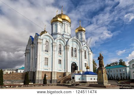 Nativity of the Virgin Monastery. Zadonsk Nativity of Our Lady Convent was founded by two elders-Schimonks Cyril and Gerasim, came from Moscow Sretensky Monastery.