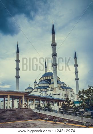 Ancient mosque in Ankara city built in 17th century