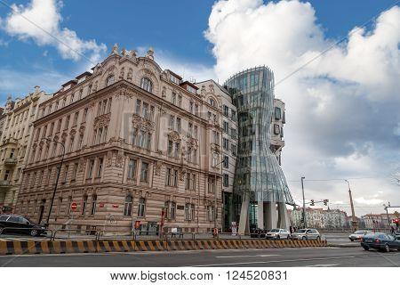 Dancing House In Prag