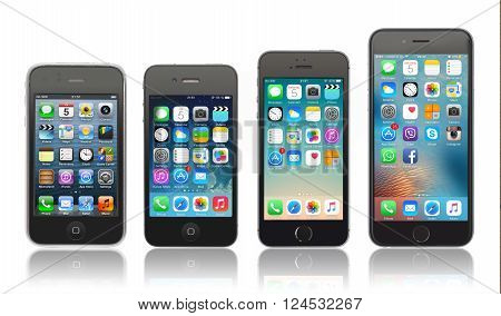 Evolution Of Apple Iphone