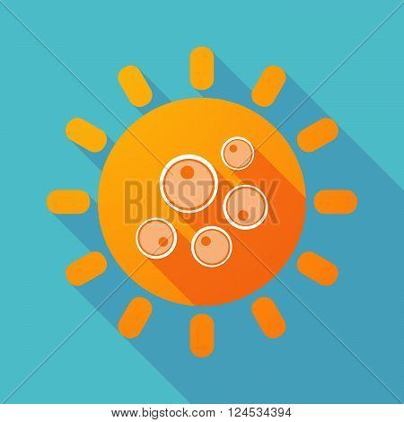 Long Shadow Sun With Oocytes