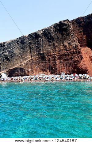 Coastline Sea  Greece Europe
