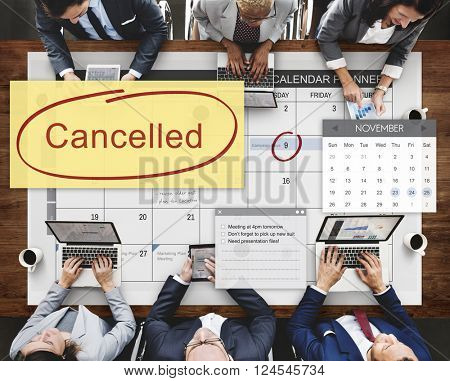Cancelled Appointment Planner Ignore Concept
