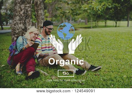Organic Wellness Natural Healthy Nutrition Concept