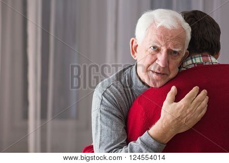 Incurable Senior And His Son