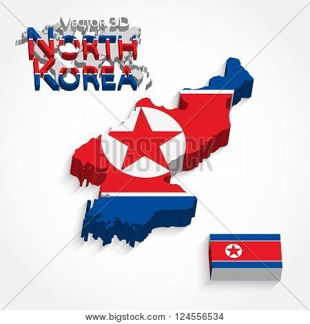 North Korea 3D, Democratic People 's Republic of Korea.