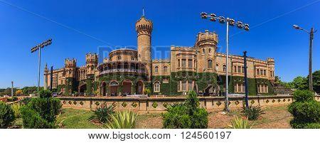 The famous Bangalore palace at Bangalore India