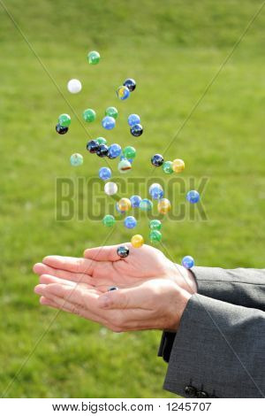 Catching Marbles